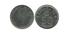 50 Pesetas Juan Carlos Espagne