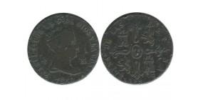 8 Maravedis Isabelle II Espagne