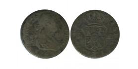 1/2 Real Charles IV Espagne Argent