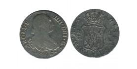 2 Reales Charles IV Espagne Argent