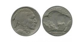 5 Cents Buffalo Etats - unis