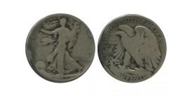 1/2 Dollar Liberte Etats - Unis Argent