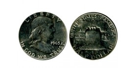 1/2 Dollar Franklin Etats - Unis Argent