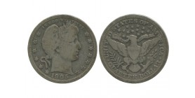 1/4 Dollar Barber Etats - Unis Argent