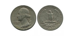 1/4 Dollar Washington Etats - Unis Argent