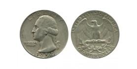 1/4 Dollar Washington Etats - Unis Argent