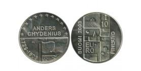 10 Euros finlande argent