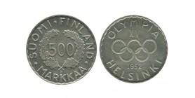 500 Marks Finlande Argent