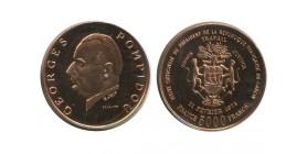5000 Francs Georges Pompidou Gabon