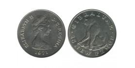 25 New Pence Elisabeth II Gibraltar
