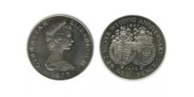 25 New Pence Elisabeth II Gibraltar Argent