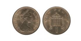 1 New Penny Elisabeth II Grande Bretagne