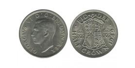 1/2 Couronne Georges VI Grande Bretagne