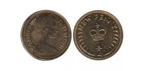 1/2 New Penny Elisabeth II Grande Bretagne