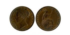1/2 Penny Victoria grande bretagne