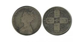 1 Florin Victoria Grande Bretagne Argent - Grande Bretagne