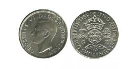 1 Florin Georges VI Grande Bretagne Argent - Grande Bretagne