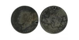 1 Shilling Georges IV Grande Bretagne Argent - Grande Bretagne