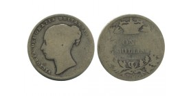 1 Shilling Victoria Grande Bretagne Argent - Grande Bretagne