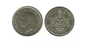1 Shilling Georges VI Grande Bretagne Argent - Grande Bretagne