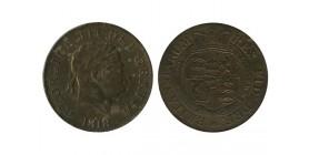 1/2 Couronne Georges III Grande Bretagne Argent - Grande Bretagne