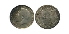 1/2 Couronne Georges V Grande Bretagne Argent - Grande Bretagne