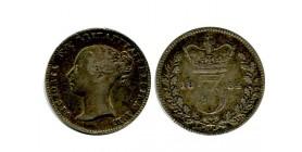 3 Pence Victoria Grande Bretagne Argent - Grande Bretagne
