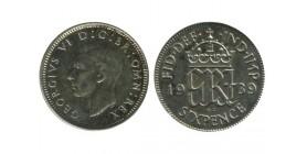 6 Pence Georges VI Grande Bretagne Argent - Grande Bretagne