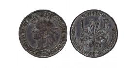 1 Franc Guadeloupe