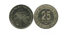 25 Francs Guinée Equatoriale