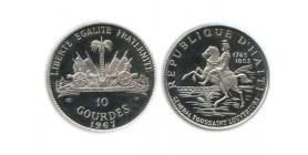 10 Gourdes Haïti Argent