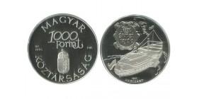 1000 Forint Hongrie Argent