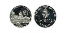 2000 Forint Hongrie Argent