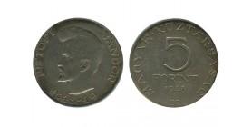 5 Forint Hongrie Argent