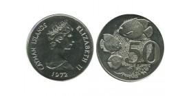 50 Cents Iles Cayman Argent