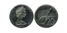 20 Cents Elisabeth II Iles Cook
