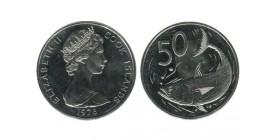 50 Cents Elisabeth II Iles Cook