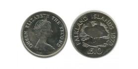 10 Livres Elisabeth II Iles Falkland Argent