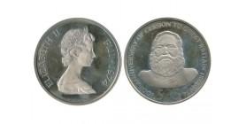 25 Dollars Elisabeth II Iles Fidji Argent
