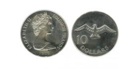10 Dollars Iles Salomon Argent