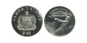 10 Tala Iles Samoa Argent