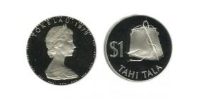 1 Tala Elisabeth II Iles Tokelau Argent