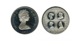 20 Couronnes Elisabeth II Iles Turks et Caà¯cos Argent