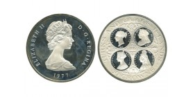 50 Couronnes Elisabeth II Iles Turks et Caà¯cos Argent