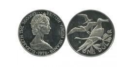 1 Dollar Iles Vierges Argent