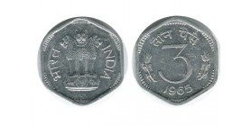 3 Paise Indes - Inde