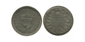 1 Roupie Georges VI Indes Argent - Indes Anglaises