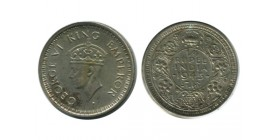 1/4 Roupie Georges VI Indes Argent - Indes Anglaises