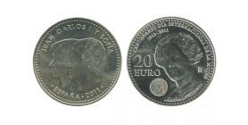 20 Euros Espagne Argent