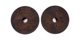 1 Centieme type Dupuis Indochine
